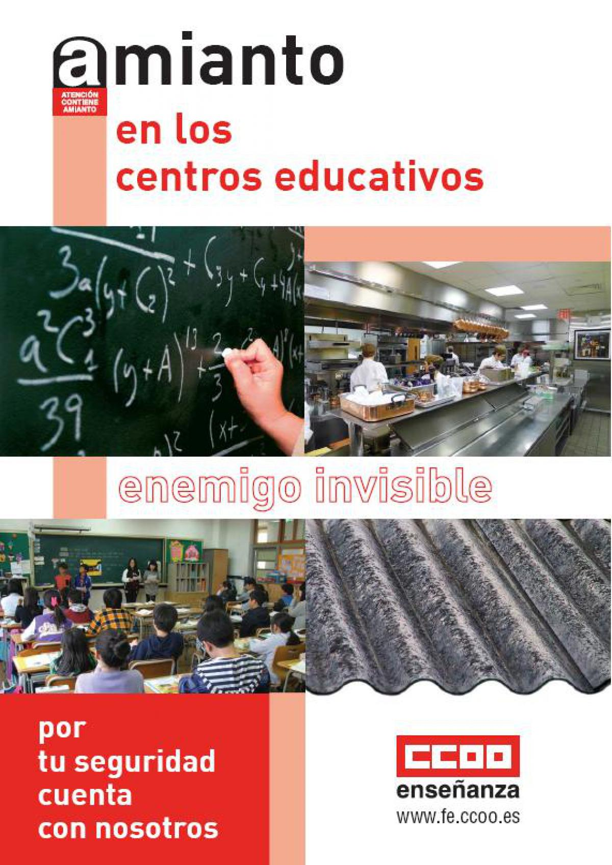Amianto en los centros educativos: Enemigo invisible